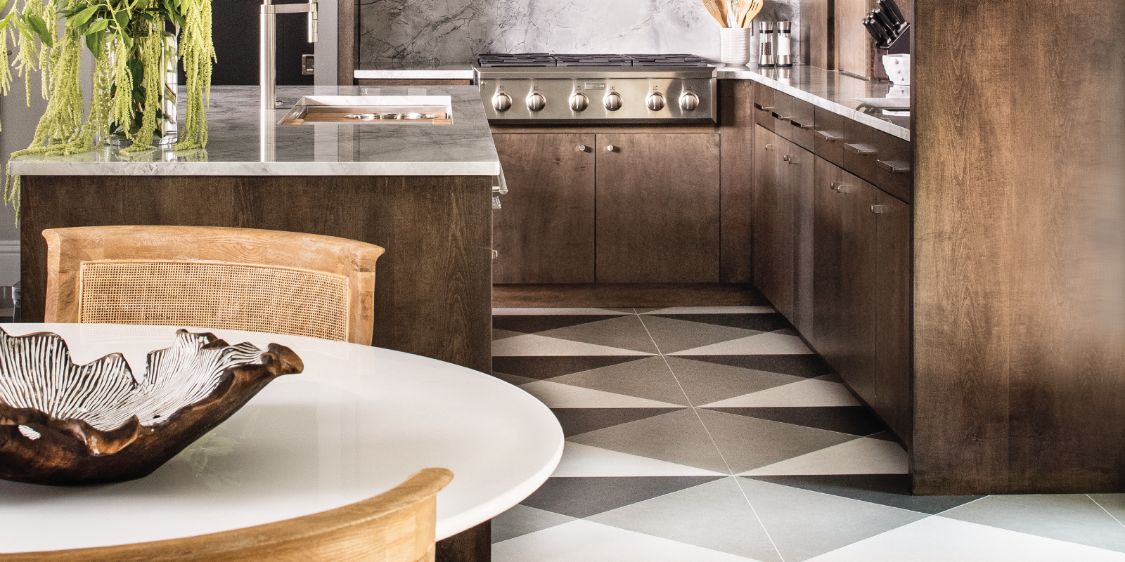 Trinity Surfaces, Audrey Lane Custom Tile Collection. Flooring products