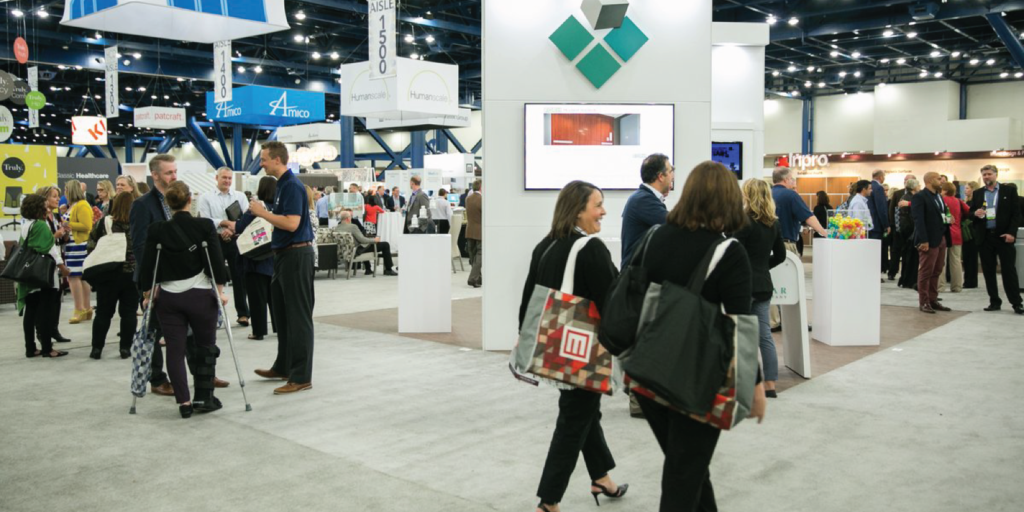Trinity Surfaces Headlines Healthcare Design Conference 2017. Wall and flooring products