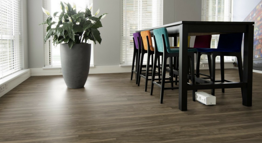 AVA Flor, LVT flooring from Trinity Surfaces.