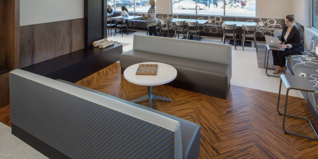 Capri Cork, cork flooring and rubber flooring from Trinity Surfaces and Capri Collections