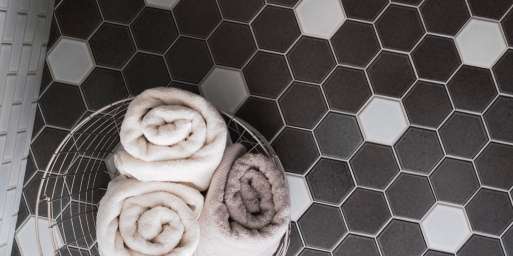 black and white hexagon tile porcelain tile faq's from Trinity Surfaces