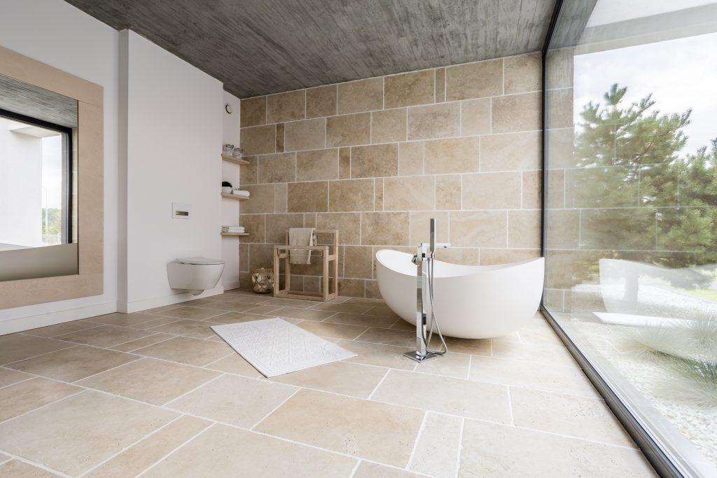 Bathroom tile, interior design ideas from Trinity Surfaces