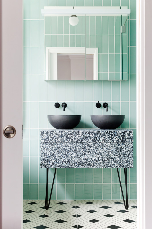 Bathroom tile, interior design ideas from Trinity Surfaces