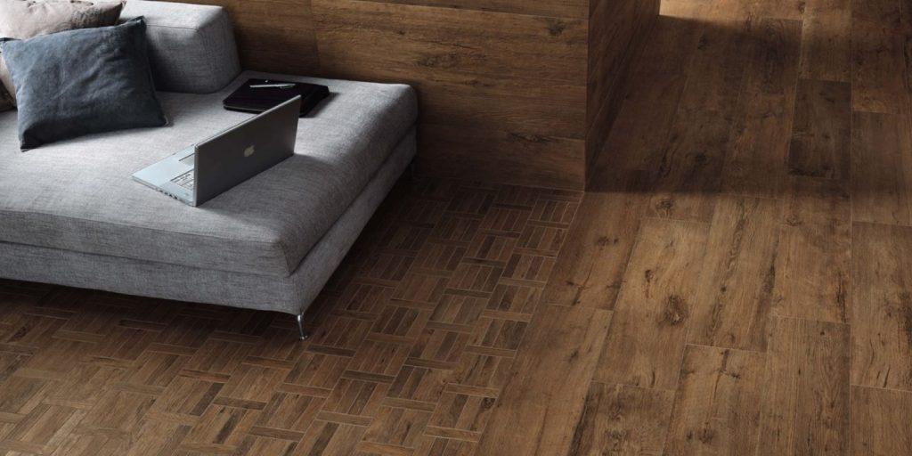 porcelain vs hardwood flooring from trinity surfaces