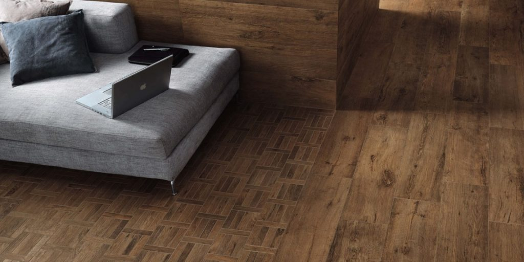 porcelain vs hardwood flooring from trinity surfaces