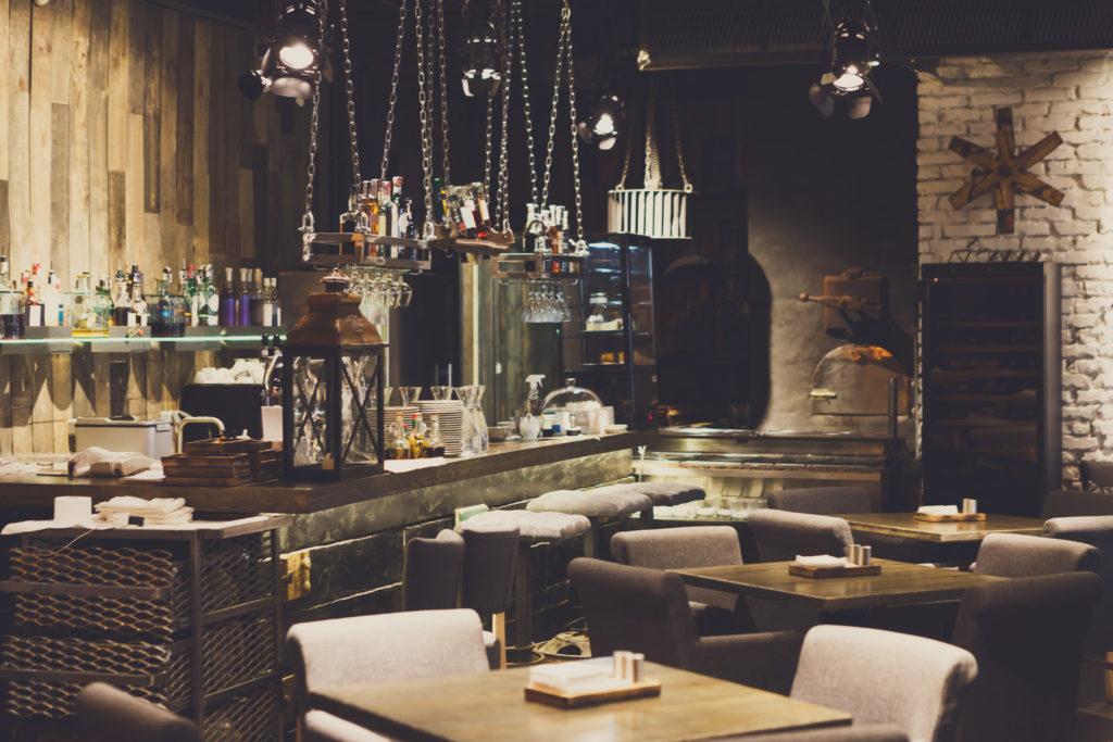restaurant interior design ideas from Trinity Surfaces