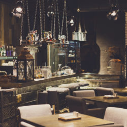 restaurant interior design ideas from Trinity Surfaces