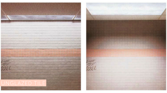 Trinity Surfaces Lighting Design, Unglazed Tile