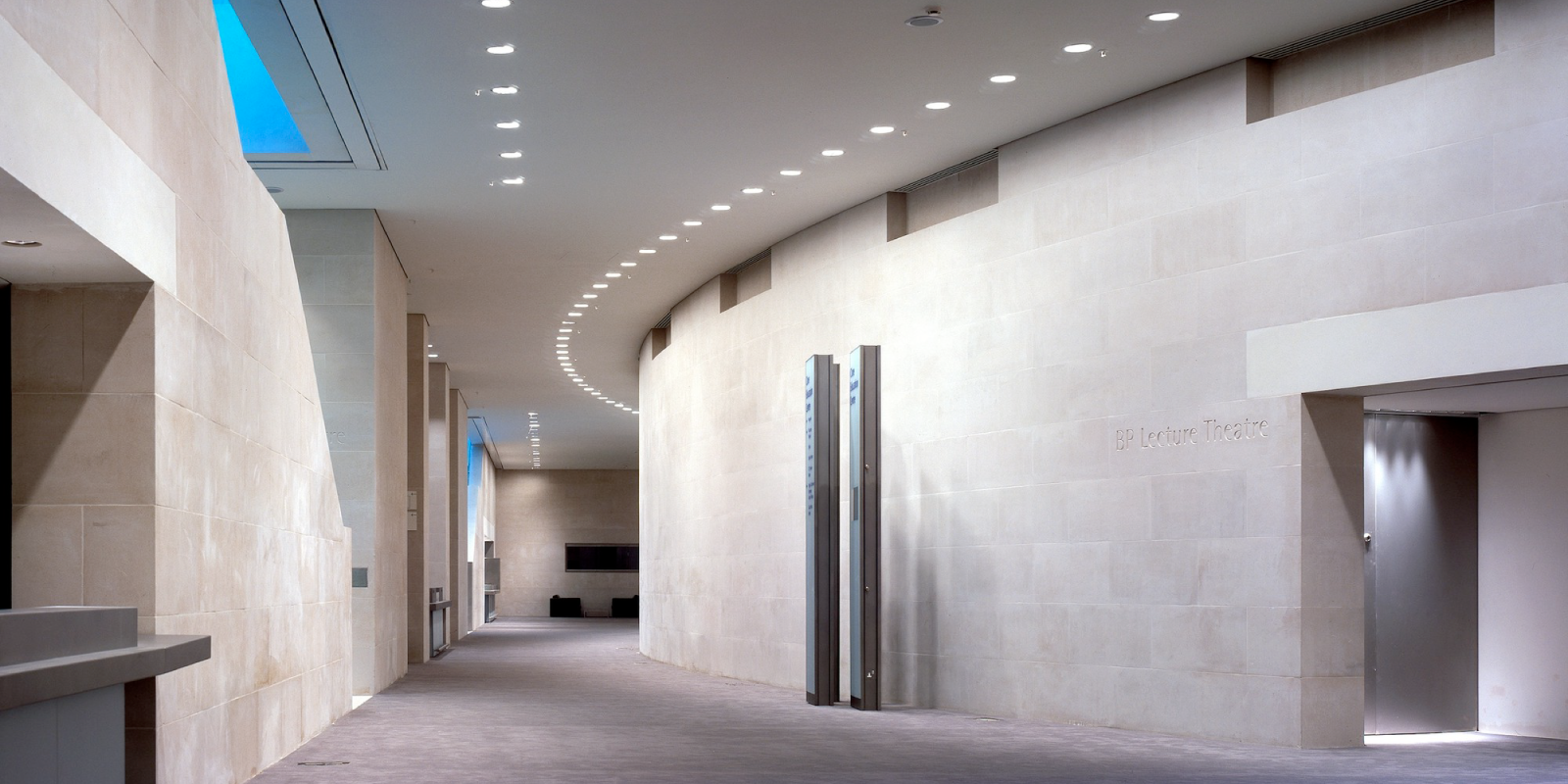 lighting design matters, wall with lights from trinity surfaces